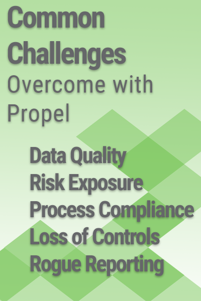 data quality process compliance loss of controls rogue reporting maximo performance management for maximo